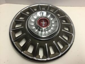 1968 Ford Mustang Hub Cap Caps Wheel Covers Chrome 14