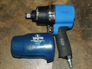 Cornwell Cat3125 3 4 Drive Super Duty Impact Wrench With Boot Works Great 579