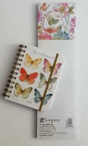 Legacy Publishing Group Little Mini Spiral Notebook Magnetic Paper Pad New