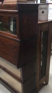Antique Lawyer Bookcase Desk Made By Macey