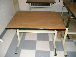 Adjustable Height Craft Computer Utility Table 27 5 X36 Commercial Quality