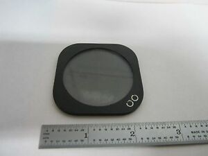Microscope Polarizer Slide Split Zeiss Ikon Maker Optics As Is Bin k5 05