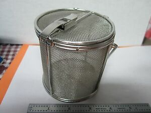 Stainless Steel Mesh Container Cleaning Laser Optics Bin a3