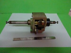 Microscope Part Polyvar Reichert Leica Stage Mechanism Optics As Is Bin w2 05