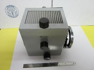 Leitz Wetzlar Germany Ortholux Lamp Housing Microscope Optics As Is Bin h1 03