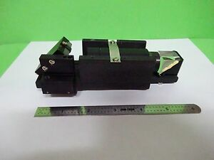 Microscope Part Polyvar Reichert Leica Confocal Prism Optics As Is Bin w2 14