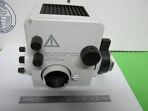 Microscope 307 143 Leitz Germany Lamp Housing Illuminator Optics As Is Bin p3 02