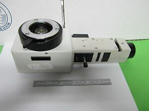 Microscope Leitz Germany Lamp Vertical Illuminator 0 8x Optics As Is Bin p3 04