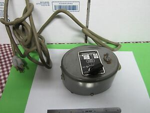 Microscope Part Leitz Vintage Transformer Lamp Illuminator As Is Bin 39