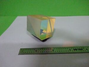 Optical Mounted Beam Splitter Coated Cube Laser Optics w8 03