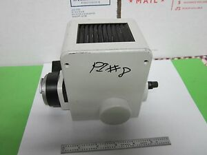 Microscope Illuminator Lamp Housing Orthoplan Leitz Wetzlar Germany Bin 47 Iv