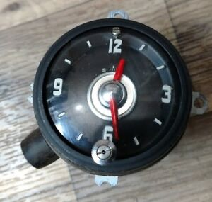 1954 1955 Oldsmobile Clock Reconditioned Excellent