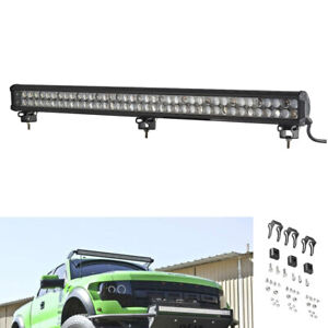 20inch 126w Led Light Bar Flood Spot Beam Work Driving Offroad Truck Atv Ute
