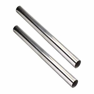2pcs 4feet 63mm 2 5 T304 Stainless Steel Straight Exhaust Pipe Tube Piping New