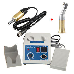 Dental Lab Marathon Polisher Electric Motor Contra Angle Low Speed Handpiece Usa