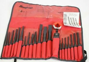 New Snap On Ppc210bk 21 Piece Punch And Chisel Set