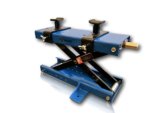 Liftmaster 1100 Lb Motorcycle Center Scissor Lift Jack With Safety Pin Hoist