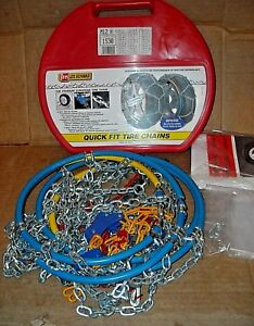 Les Schwab Quick Fit Tire Snow Chains Stock 1530 Never Used Made In Italy