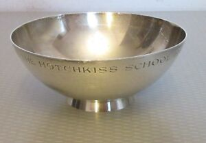 Tiffany Co Sterling Silver Bowl Revere 4 5 Presentation Prize 1960 Hotchkiss