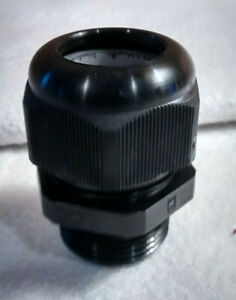 1 Npt Cable Gland Strain Relief Cord Grip W Gasket 748 984 Black
