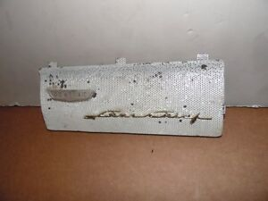 Pontiac 1956 Star Chief Dashboard Speaker Grille With Emblems 15