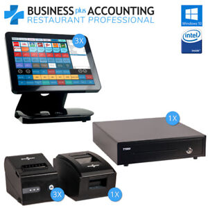 Bpa All in one Restaurant Pos System 3 Stations