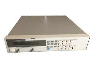 Hp Keysight Agilent 6542a 200 Watt 20v 10amp Programmable Peak Dc Power Supply