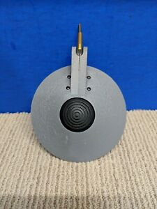 Vtg Sonneman Kovacs Feather Floor Lamp Part Grey Headshell Mid Century Modern