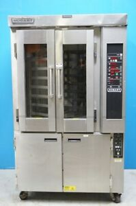 Hobart Electric Mini Rotating Rack Steam Injected Convection Oven Model Ho300e