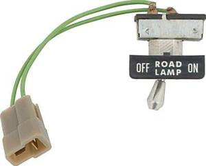 1970 Plymouth cuda Road Lamp Switch With Bezel