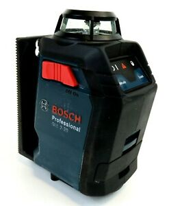 Bosch Gll 2 20 360 Degree Laser Level With Vertical Self levelling Red Beam Used