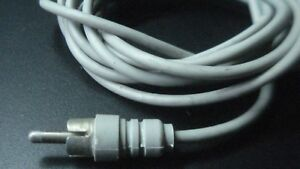Shielded Cable With Rca 2 Meters Chip Vintage Lo Of 12