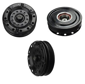 Ac Compressor Clutch Kit Pulley Plate Fits 2007 2012 Toyota Yaris 5se11c