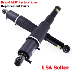 2002 2014 Gm Escalade Rear Oem Quality Electronic Air Ride Shocks Pair New