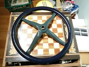 Antique Restored 16 Ford Model T Ford Steering Wheel Rat Rod Custom Painted