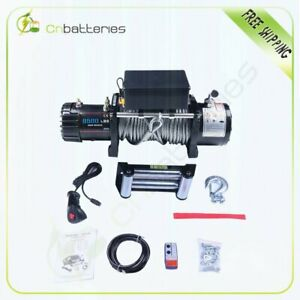 9500lbs 4310kgs 12v Electric 4wd Winch Kit W Wireless Remote For Jeep Truck