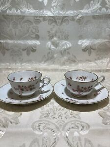 Bavarian China Germany Coffe Cup And Saucer 2 Pices