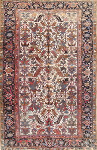 Semi Antique Old 6x10 Wool Oriental Area Rug 10 3 X 6 5