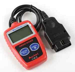 Obdii Scanner Code Reader With Reset Check Engine Light Function Also Vin s