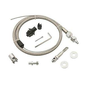 Mr Gasket 5657 Stainless Steel Throttle Cable 36 Inch Universal