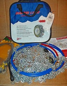 2327lw Diamond Back Light Truck suv Tire Snow Chains Never Used