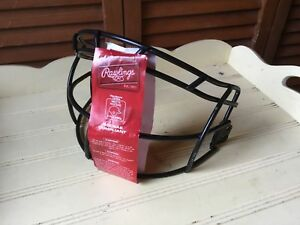 RAWLINGS FAST PITCH SOFTBALL FACE MASK NOCSAE COMPLIANT UNUSED NO SCREWSHELMET