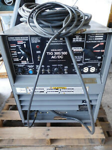 Idealarc Tig 300 300 Ac dc Arc Welder Power Source
