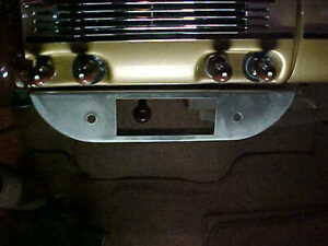 1940 Ford Underdash Panel For Ac radio also Fit Well On Others