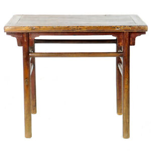 Antique Chinese Rustic Wine Hall Table Vanity 40 Wide 20 Deep 34 Tall