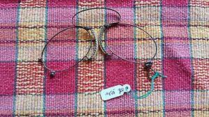 Rare Ancient Victorian Pince Nez Eye Glasses 1800 S No Lens Special