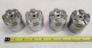 4 Qty Of Stainless Steel Caliper Pistons 1 7 8 Od By 1 3 4 Id