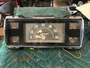 Ford Big Truck Gauge Cluster Used From 1940 Through 1947 3 4 Ton And Above