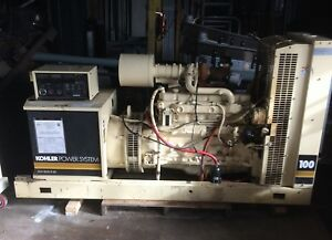 100 Kw Kohler Diesel Generator With John Deere Engine And Auto Transfer Switch