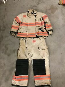 Morning Pride White Bunker Gear Turn Out Gear Many Sizes Big And Small